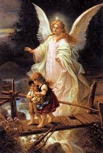 angel-watching-children